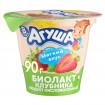 «Агуша» Биолакт сладкий с клубникой, 8мес+, 90 гр ДО 22 МАРТА
